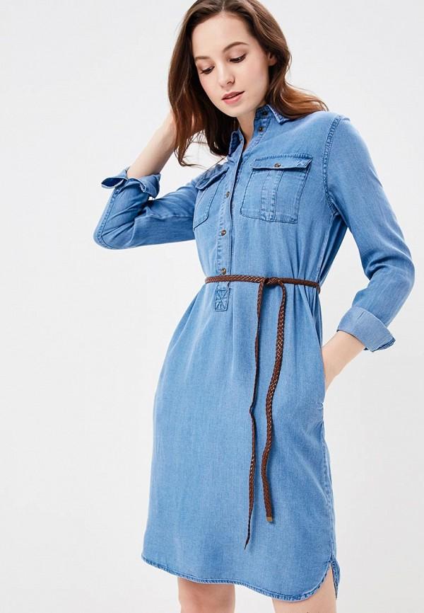 Купить Платье джинсовое Baon, Baon BA007EWAYMC8, голубой, Весна-лето 2018
