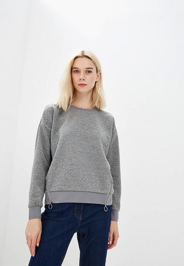 Купить Свитшот Baon, Baon BA007EWCLBM6, серый, Осень-зима 2018/2019