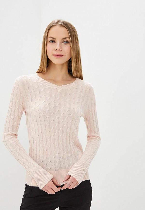 женский пуловер baon, розовый