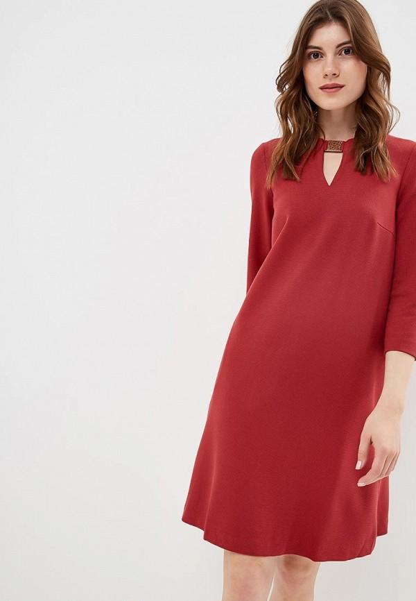 женское платье baon, красное