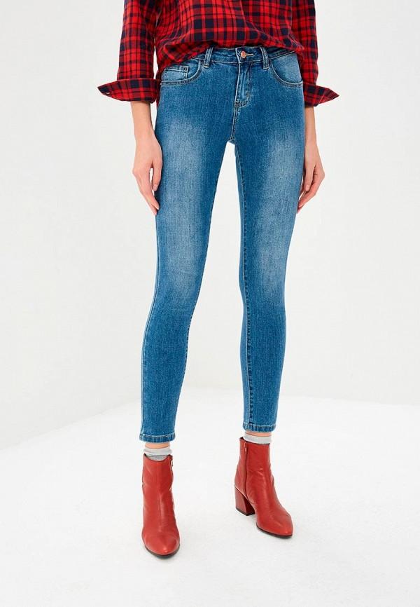 женские джинсы baon, голубые