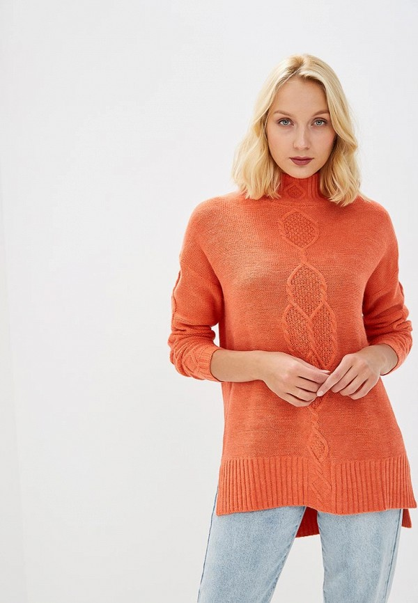 Купить Свитер Baon, Baon BA007EWCLDY9, оранжевый, Осень-зима 2018/2019