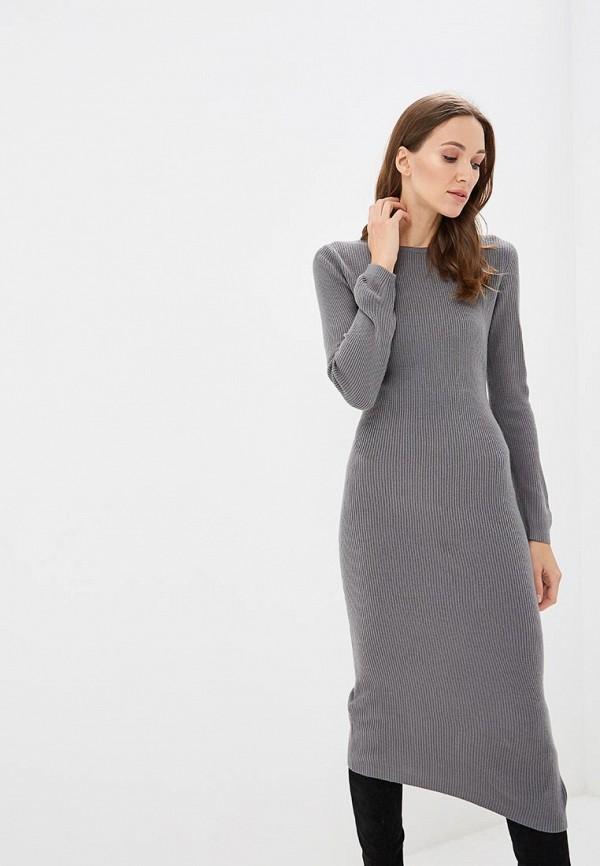 Купить Платье Baon, Baon BA007EWCLEF4, серый, Осень-зима 2018/2019