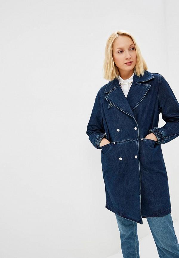 Куртка джинсовая Baon Baon BA007EWDWZD5 юбка джинсовая baon baon ba007ewdxcd8