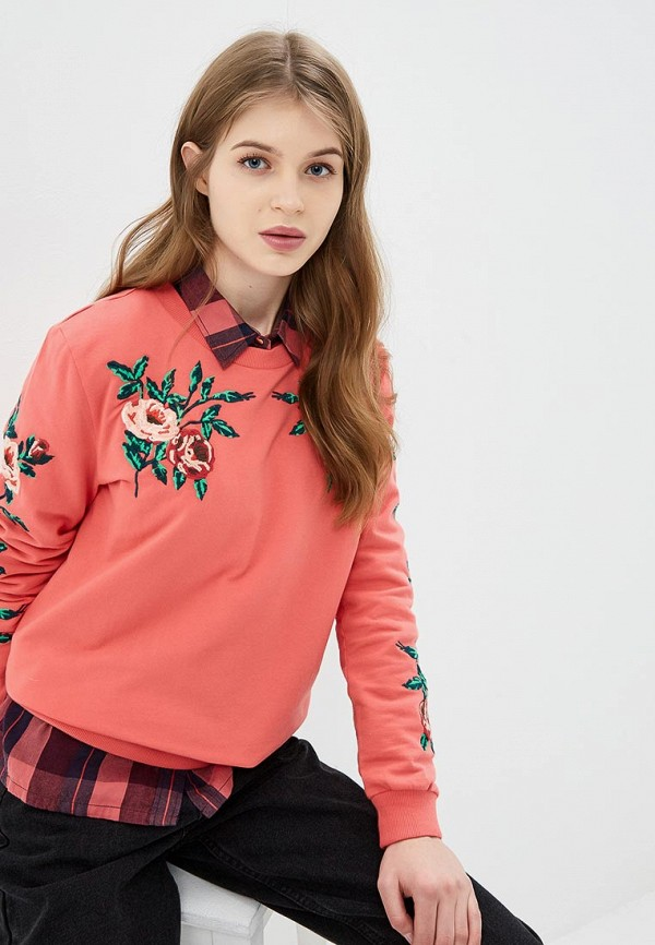 женский свитшот baon, розовый