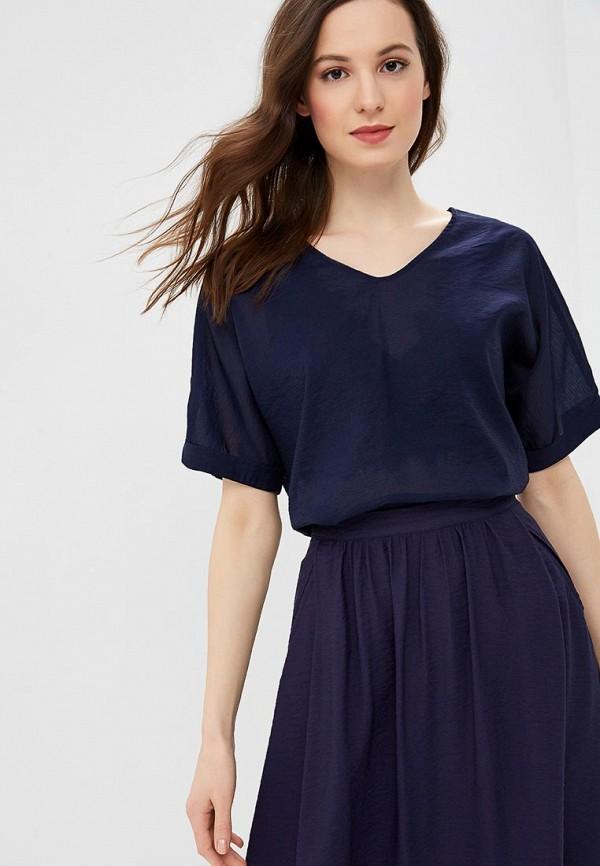 женская блузка baon, синяя