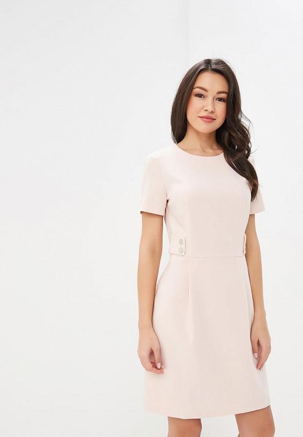 женское повседневные платье baon, розовое
