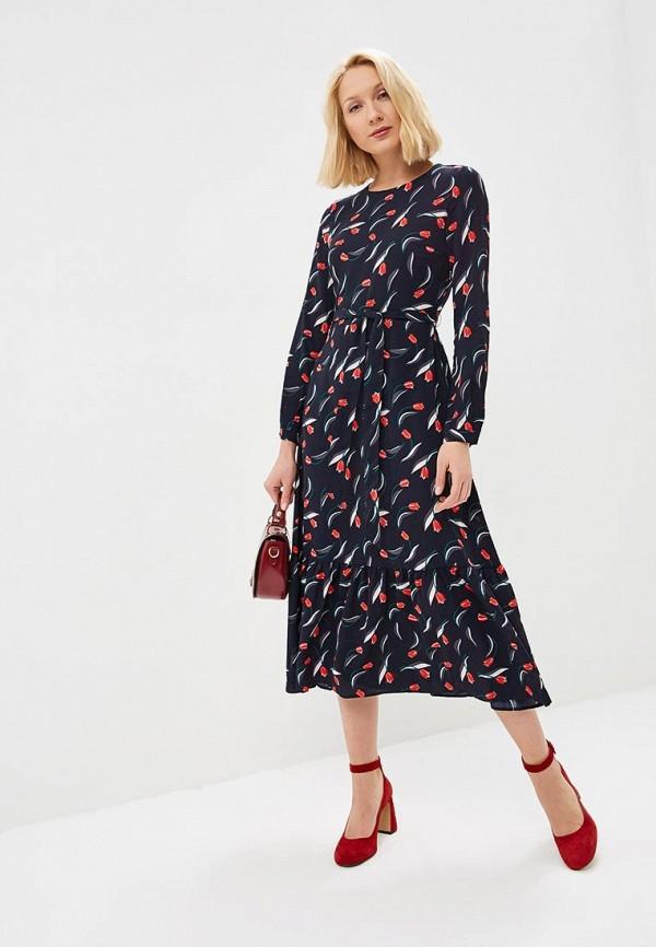 женское повседневные платье baon, черное
