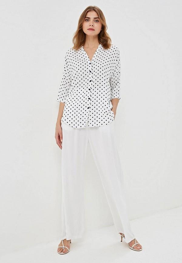 Фото 2 - женскую блузку Baon белого цвета