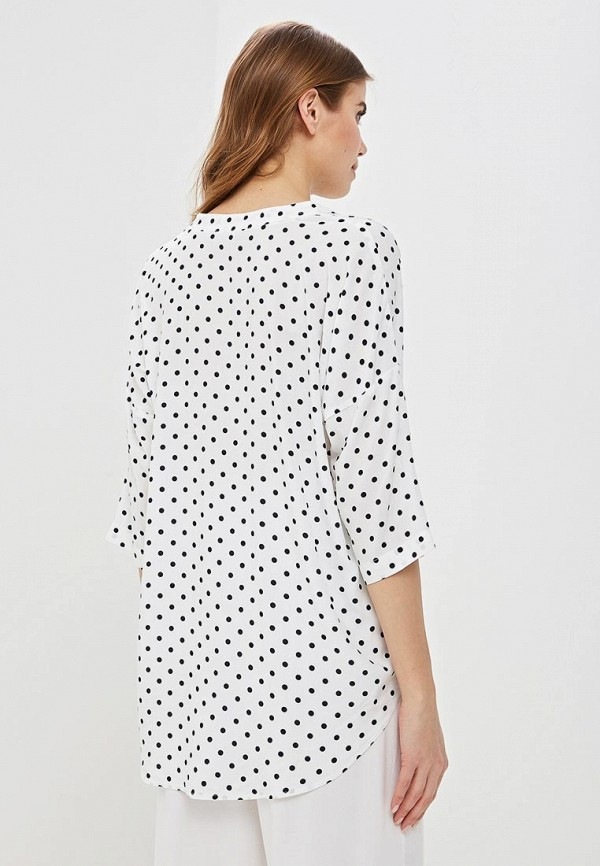 Фото 3 - женскую блузку Baon белого цвета
