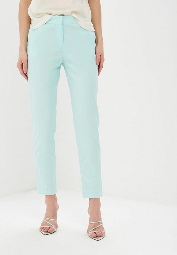 женские повседневные брюки baon, бирюзовые