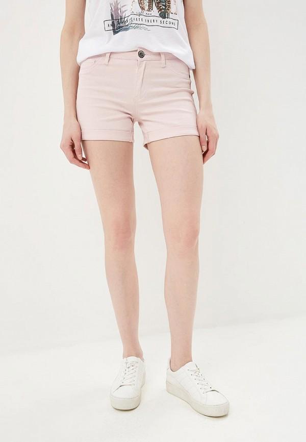 женские повседневные шорты baon, розовые