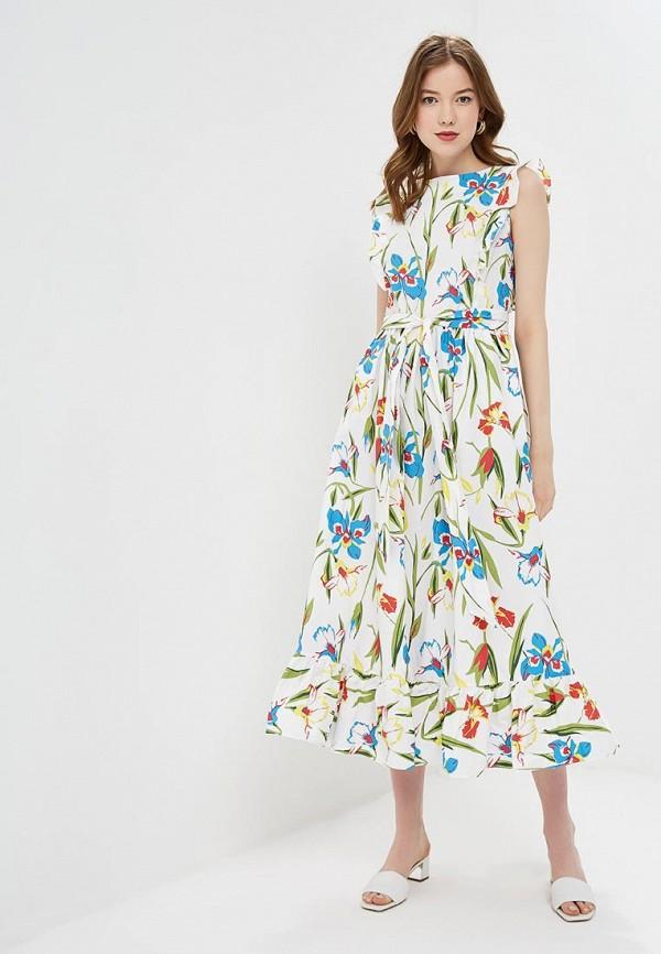 Купить Платье Baon, ba007ewdxbm2, белый, Весна-лето 2019