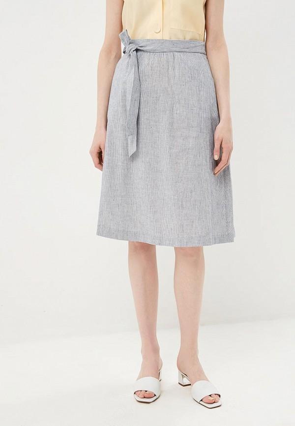 женская прямые юбка baon, серая
