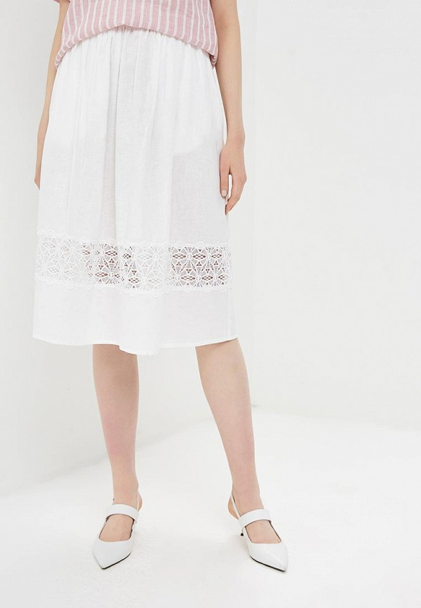 женская юбка baon, белая