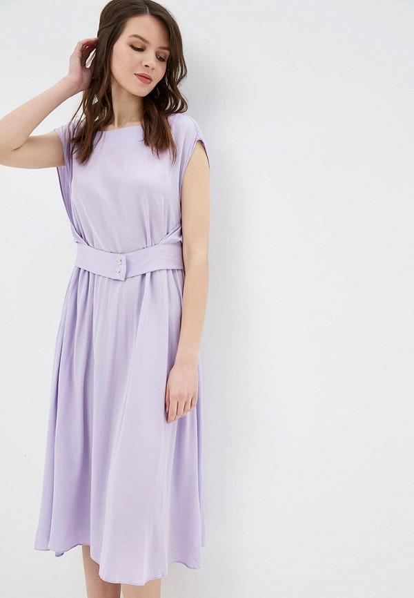 женское повседневные платье baon, фиолетовое