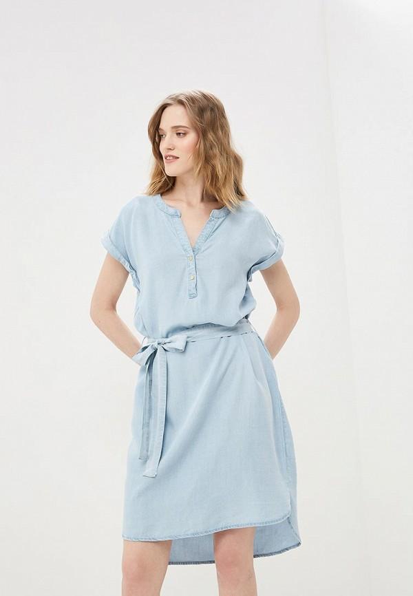 Платье джинсовое Baon Baon BA007EWDXCC1 платье baon baon ba007ewfzfk1