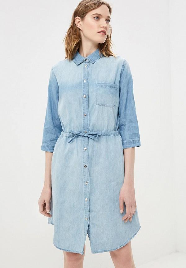 Платье джинсовое Baon Baon BA007EWDXCC3 платье джинсовое baon baon ba007ewdxcc3