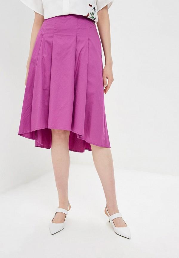 женская юбка baon, фиолетовая