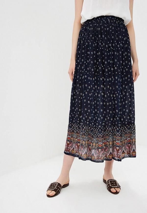 женская юбка baon, синяя