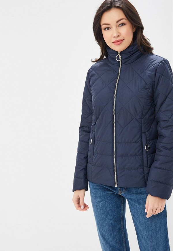 женская куртка baon, синяя