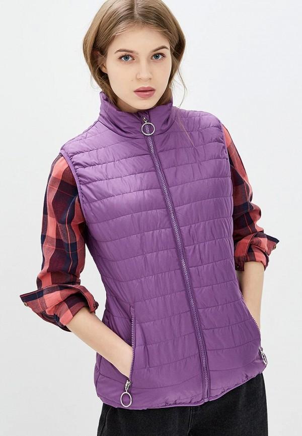женский жилет baon, фиолетовый