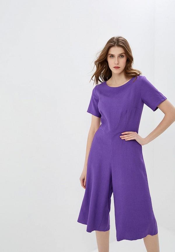 женский комбинезон baon, фиолетовый