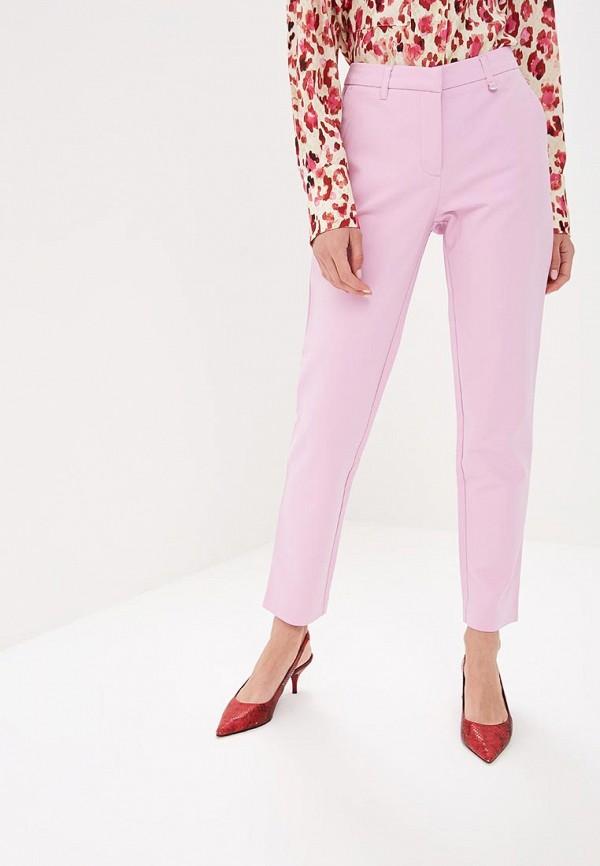 женские повседневные брюки baon, фиолетовые