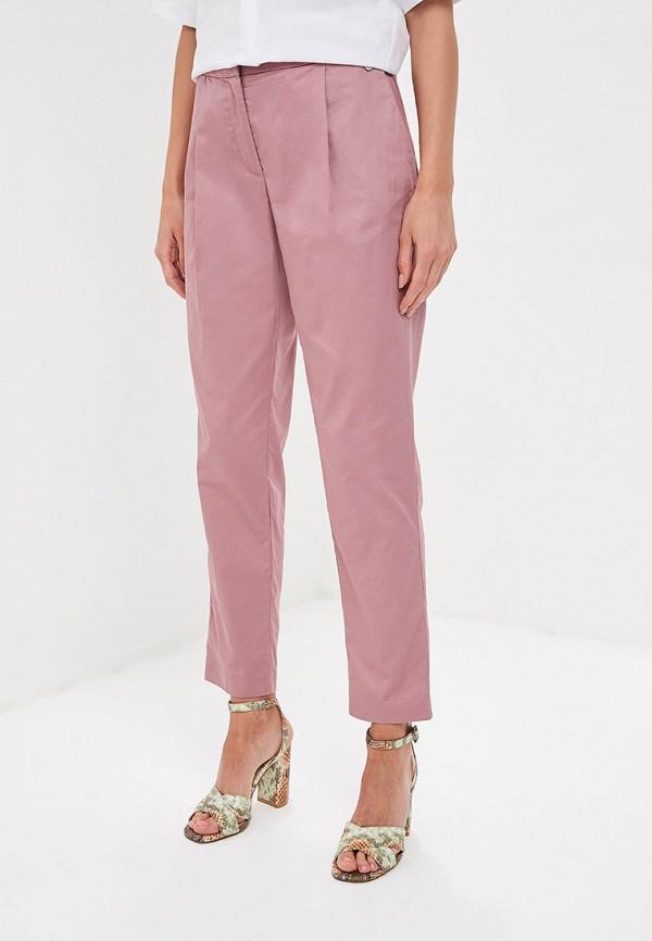 женские повседневные брюки baon, розовые