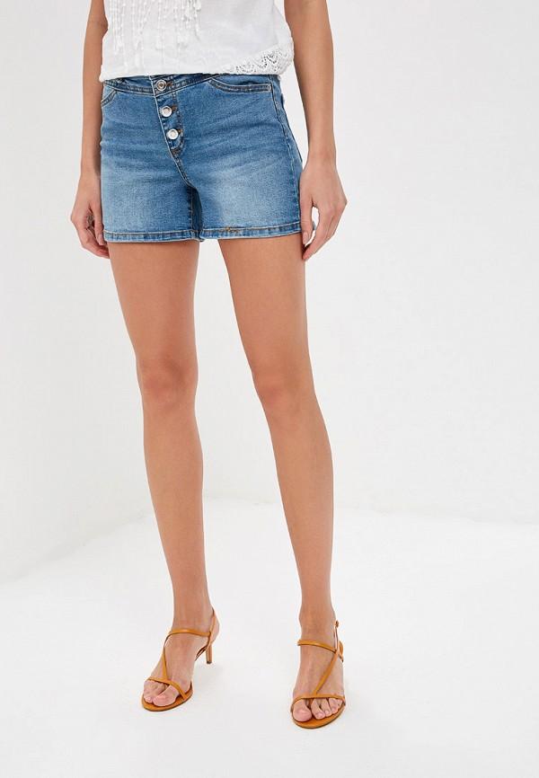 Шорты джинсовые Baon Baon BA007EWFLYK8 шорты baon baon ba007emayin9