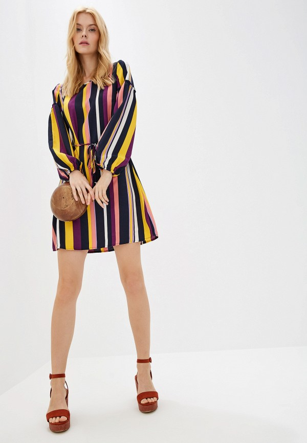 Фото 2 - женское платье Baon разноцветного цвета