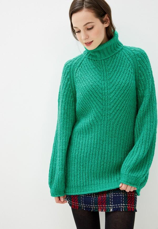 женский джемпер baon, зеленый