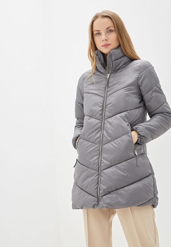 Фото - Куртку утепленная Baon серого цвета