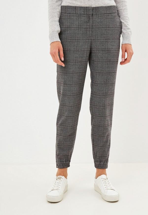 женские брюки baon, серые