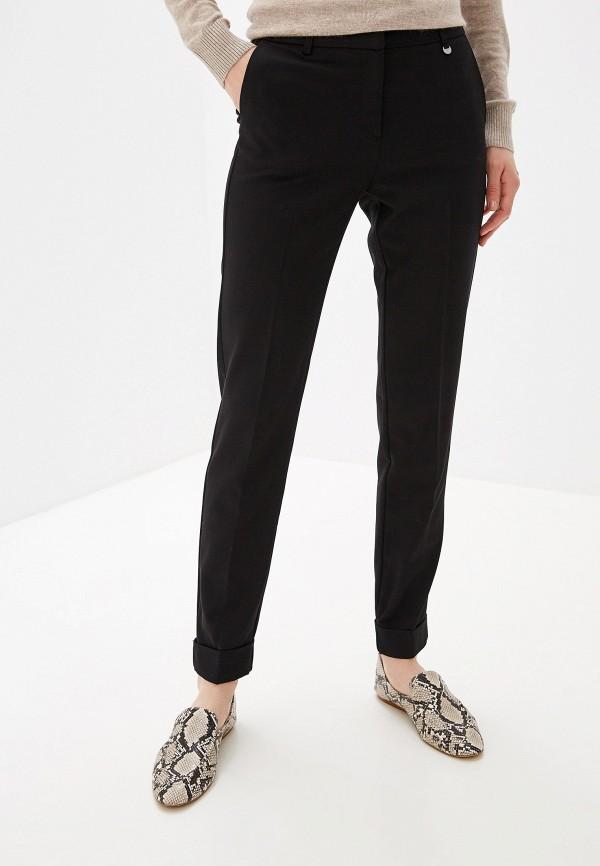 женские классические брюки baon, черные