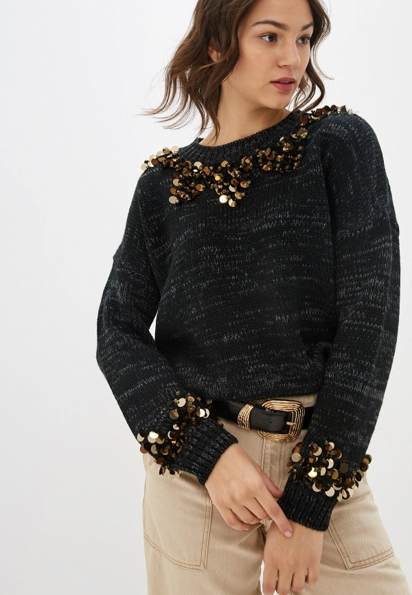женский джемпер baon, серый