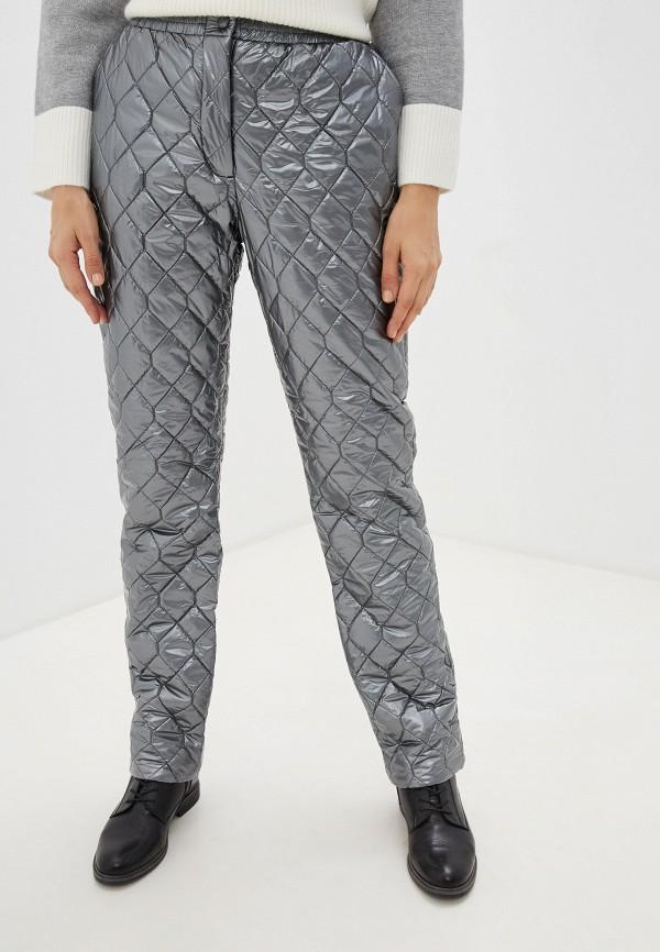 женские брюки baon, серебряные