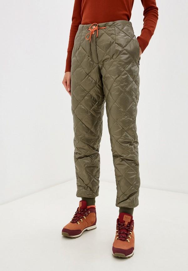 женские брюки baon, хаки