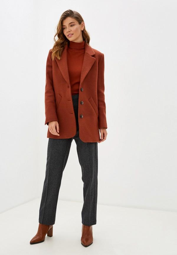 Фото 2 - женские брюки Baon серого цвета