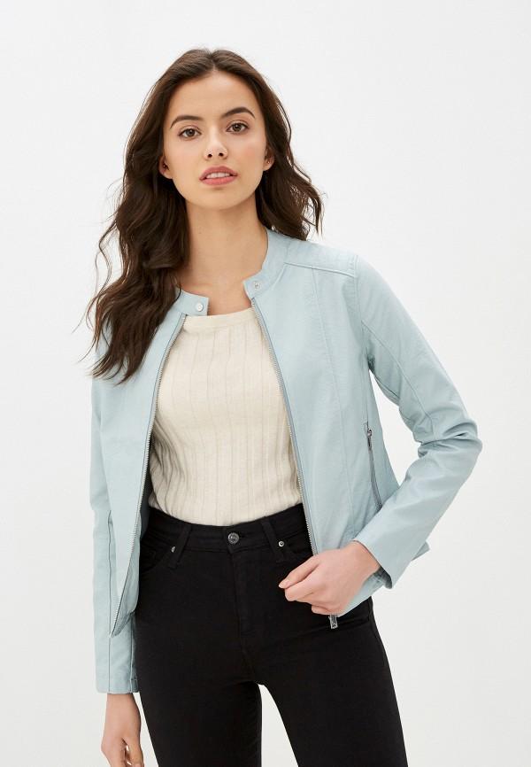 женская куртка baon, голубая