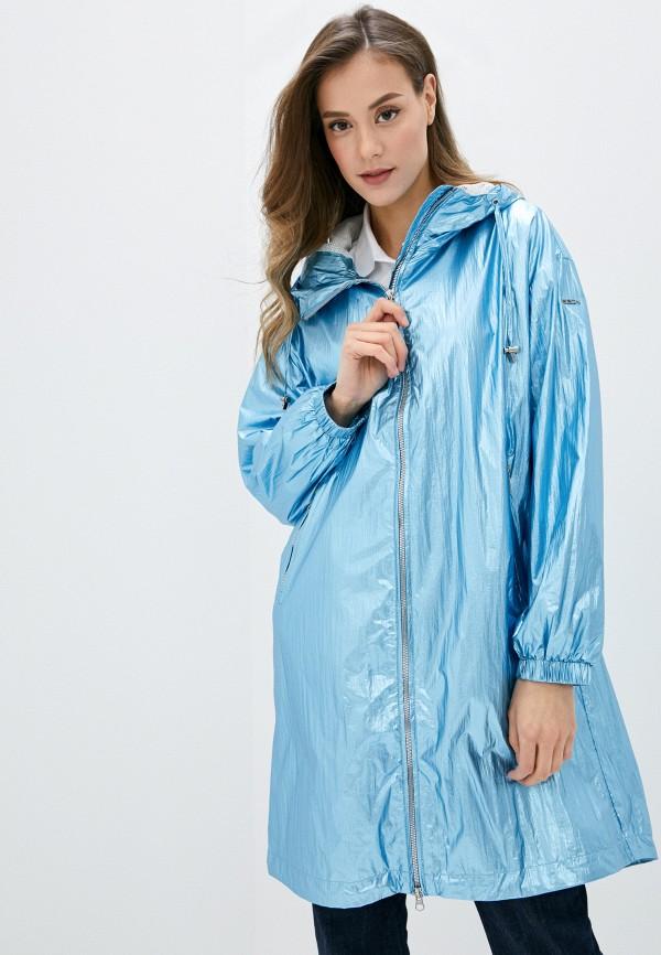 женский плащ baon, голубой