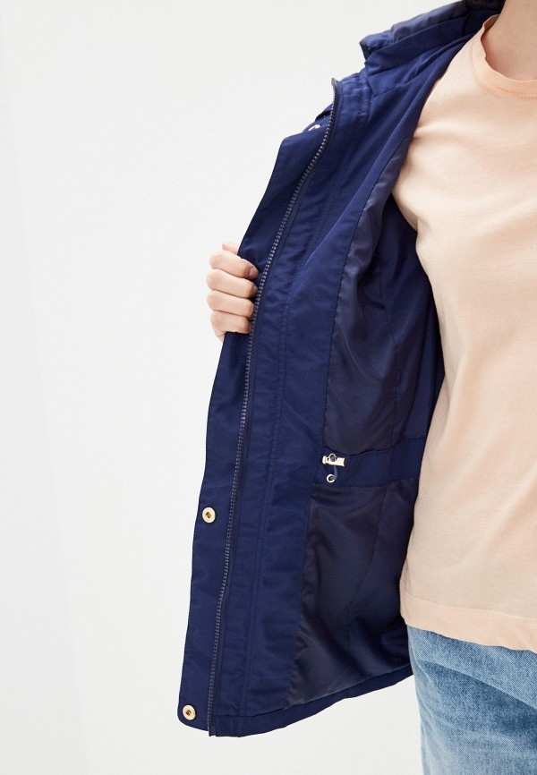 Фото 4 - Куртку Baon синего цвета