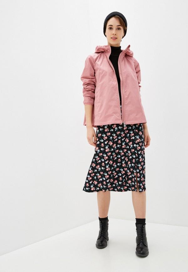 Фото 2 - Куртку Baon розового цвета