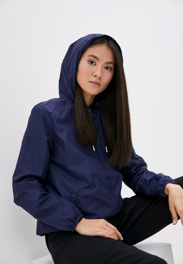 женская ветровка baon, синяя