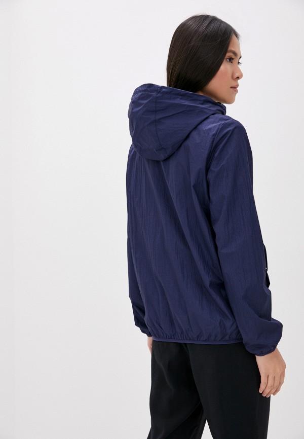 Фото 3 - Женскую ветровку Baon синего цвета