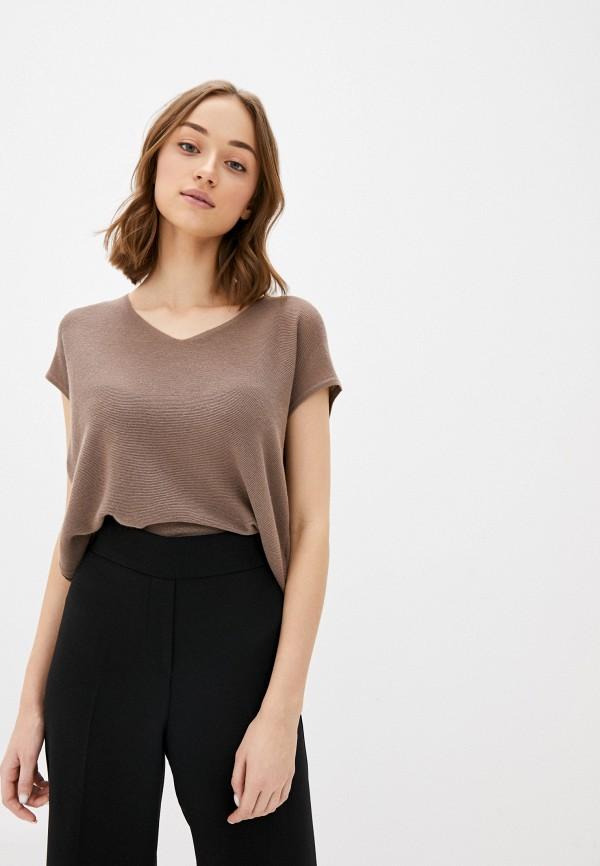 Фото - Женский пуловер Baon коричневого цвета