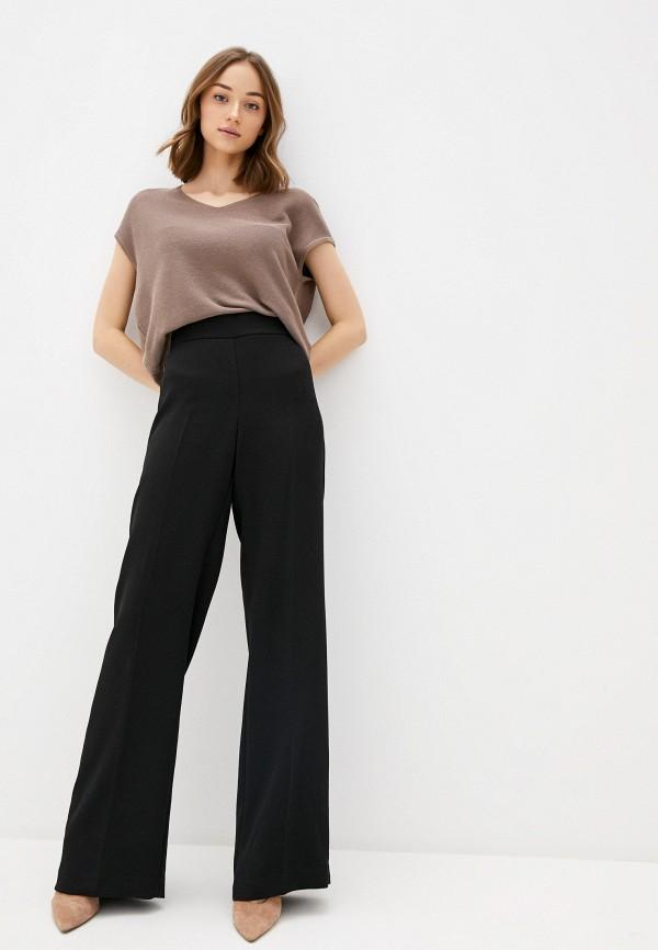 Фото 2 - Женский пуловер Baon коричневого цвета