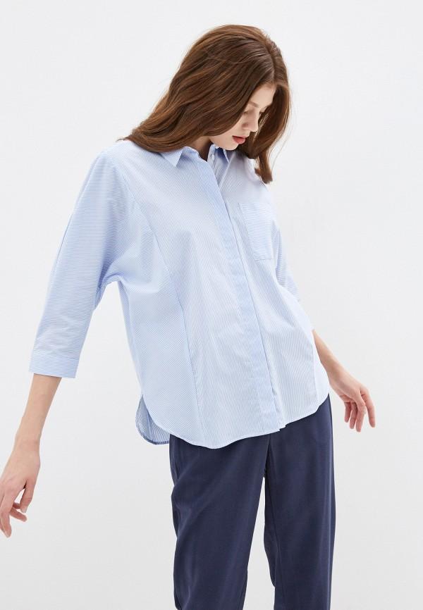 Фото - Женскую рубашку Baon голубого цвета