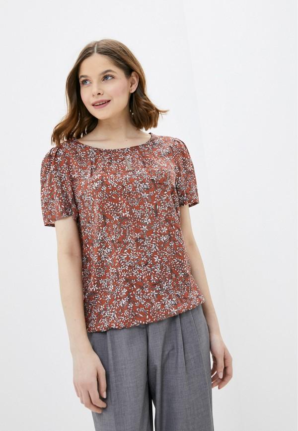 Фото - Женскую блузку Baon коричневого цвета
