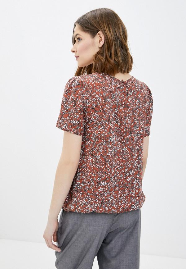 Фото 3 - Женскую блузку Baon коричневого цвета